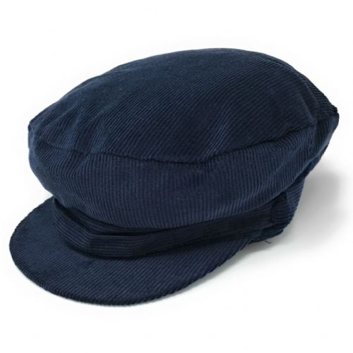 Cord Cadet Cap - Navy or Black